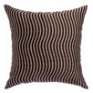 Softline Home Fashions Palatial Wave Stripe Decorative Throw Pillow