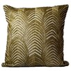 Debage Inc. Mirasol Beaded Gold Wave Down Feather Throw Pillow (Set of 2)
