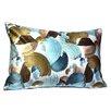 Debage Inc. Mirasol Paint Bruch Painting Lumbar Pillow (Set of 2)