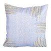 Debage Inc. Sea Side Beaded Corners Natural/Organic Throw Pillow