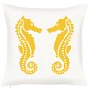 Debage Inc. Costal Seahorse Throw Pillow