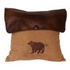HiEnd Accents Bear Lodge Throw Pillow