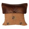 HiEnd Accents Pine Cone Lodge Throw Pillow