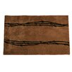 HiEnd Accents Barbwire Chocolate Area Rug