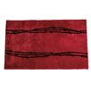 HiEnd Accents Barbwire Red Area Rug
