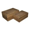 Screen Gems 2 Piece Storage Box Set (Set of 16)