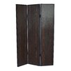 "Screen Gems 71"" x 47"" Sonoma 3 Panel Room Divider"