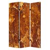 "Screen Gems 72"" X 48"" Marble 3 Panel Room Divider"