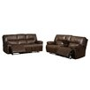 AC Pacific Dwayne Sofa and Loveseat Set