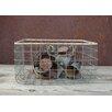 Nkuku Lemba Wicker Wire Basket