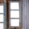 Nkuku Basu Reclaimed Wood 3 Windows Picture Frame