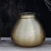 Nkuku Nami Round Brass Vase