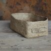 Nkuku Braided Hemp Rectangular Basket