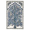 Zaida UK Ltd Handmade Blue Area Rug