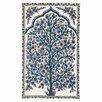 Zaida UK Ltd Handgefertigter Innenteppich in Blau