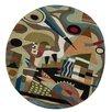 Zaida UK Ltd Kandinsky Abstraction Handmade Area Rug