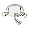 Saxby Lighting Deckenleuchte 3-flammig Amalfi