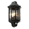 Saxby Lighting Traditional 1 Light Outdoor Flush Mount