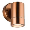 Saxby Lighting Palin Single Flush Wall Light in Copper Tinted Lacquer
