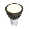 Saxby Lighting 5W Black GU10/Bi-pin LED Light Bulb