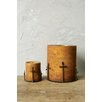 Creative Co-Op Sonoma Glass and Metal Votive