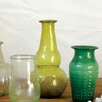 Creative Co-Op Morocco Recycled Hand Blown Glass Vase