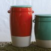 Creative Co-Op Urban Homestead Stoneware Canister