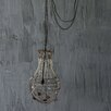 Creative Co-Op Chateau Wire and Glass Bead Chandelier