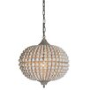 Creative Co-Op Flirt 1 Light Globe Pendant