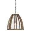 Creative Co-Op Casual Country 1 Light Foyer Pendant