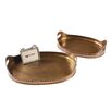 Creative Co-Op Sonoma Metal Tray (Set of 2)