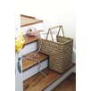 Creative Co-Op Turn of the Century Bankuan Braided Stair Basket
