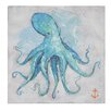 Creative Co-Op Come With Me 'Octopus' by Chad Barrett Original Painting on Canvas