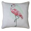 Creative Co-Op Come With Me Cotton Throw Pillow