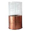 Creative Co-Op Sonoma Metal and Glass Hurricane/Vase