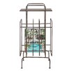 Creative Co-Op Terrain Metal Table with Magazine Holder