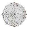 Creative Co-Op Chateau Medallion with Hole For Chandelier