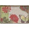 Creative Co-Op Secret Garden Butterfly Decorative Tray