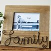 """Creative Co-Op """"Family"""" Picture Frame"""