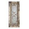 Creative Co-Op Chateau Pine Wood and Metal Framed Antique Mirror
