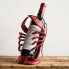 Creative Co-Op Waterside 1 Bottle Tabletop Wine Rack