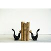Creative Co-Op Cast Iron Seal Book Ends (Set of 2)