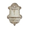 Iron Vintage Wall Water Fountain - Creative Co-Op Indoor and Outdoor Fountains