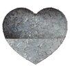 Sandpoint Galvanized Heart Metal Wall Planter - Laurel Foundry Modern Farmhouse Planters