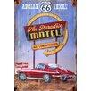 Vintage Signs Red Horse Corvette Vintage Advertisement Plaque