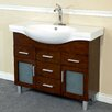 "Bellaterra Home 40"" Single Bathroom Vanity Set"