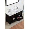 """Bellaterra Home 48"""" Double Sink Vanity Set"""