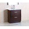 """Bellaterra Home 30"""" Single Sink Vanity Set"""