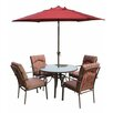 Royal Craft Amalfi 4 Seater Dining Set