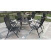 Royal Craft Sorrento 6 Seater Dining Set with Parasol